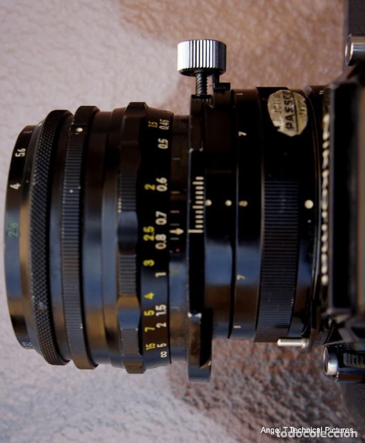 Cámara de fotos: Nikon Nikkormal EL + 35 mm. Descentrable.PC Nikkor. - Foto 9 - 207972316