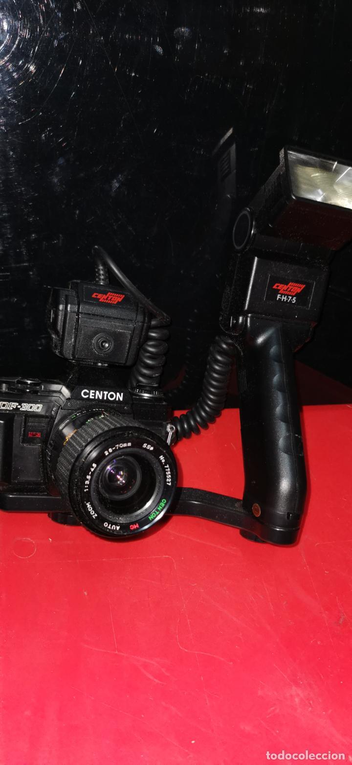 CAMARA CENTON CON FLASH (Cámaras Fotográficas - Réflex (no autofoco))