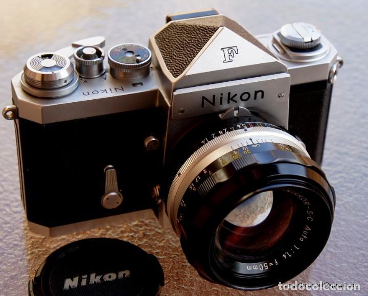 NIKON F, 50 F/1,8 AÑOS 60.MINT+++.COMO NUEVA. (Cámaras Fotográficas - Réflex (no autofoco))