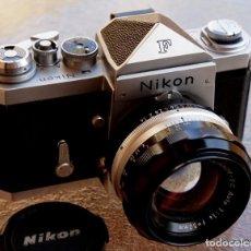 Cámara de fotos: NIKON F, 50 F/1,8 AÑOS 60.MINT+++.COMO NUEVA.. Lote 208369673
