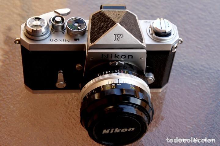 Cámara de fotos: NIKON F, 50 F/1,8 años 60.MINT+++.Como nueva. - Foto 2 - 208369673