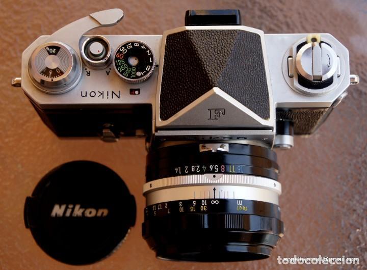 Cámara de fotos: NIKON F, 50 F/1,8 años 60.MINT+++.Como nueva. - Foto 3 - 208369673