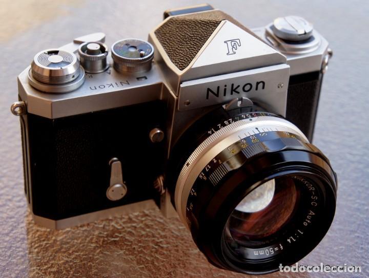 Cámara de fotos: NIKON F, 50 F/1,8 años 60.MINT+++.Como nueva. - Foto 4 - 208369673