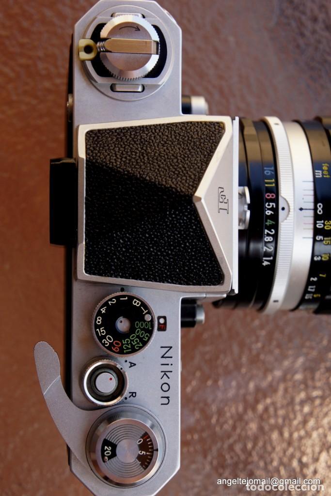 Cámara de fotos: NIKON F, 50 F/1,8 años 60.MINT+++.Como nueva. - Foto 6 - 208369673