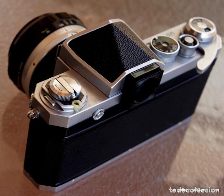 Cámara de fotos: NIKON F, 50 F/1,8 años 60.MINT+++.Como nueva. - Foto 8 - 208369673