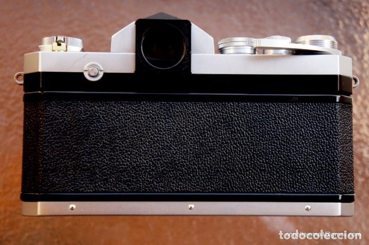 Cámara de fotos: NIKON F, 50 F/1,8 años 60.MINT+++.Como nueva. - Foto 9 - 208369673