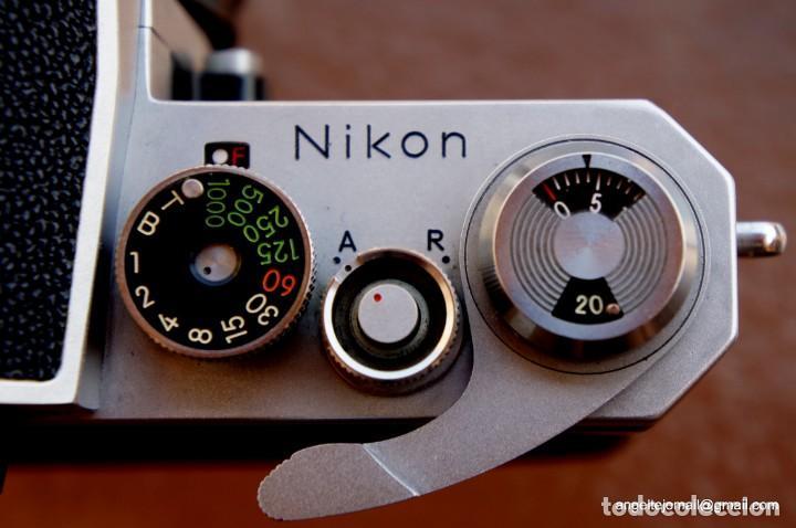 Cámara de fotos: NIKON F, 50 F/1,8 años 60.MINT+++.Como nueva. - Foto 10 - 208369673
