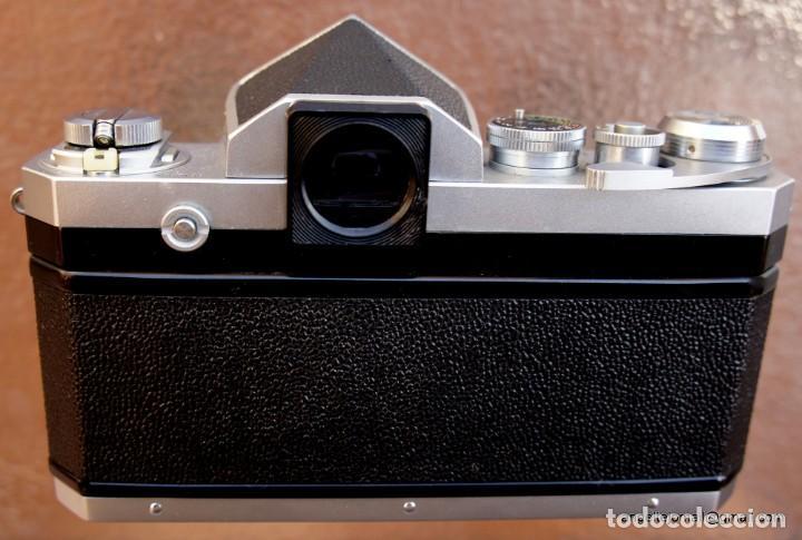 Cámara de fotos: NIKON F, 50 F/1,8 años 60.MINT+++.Como nueva. - Foto 11 - 208369673