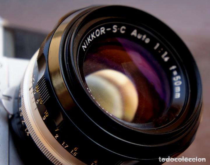 Cámara de fotos: NIKON F, 50 F/1,8 años 60.MINT+++.Como nueva. - Foto 13 - 208369673