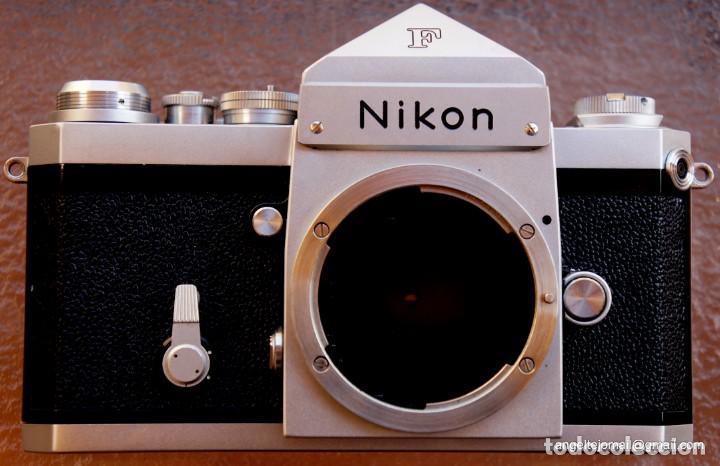 Cámara de fotos: NIKON F, 50 F/1,8 años 60.MINT+++.Como nueva. - Foto 14 - 208369673