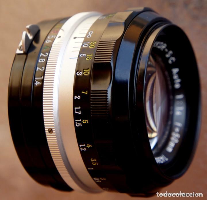 Cámara de fotos: NIKON F, 50 F/1,8 años 60.MINT+++.Como nueva. - Foto 16 - 208369673