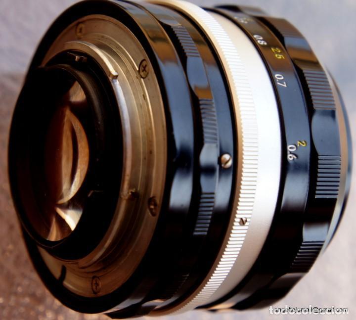 Cámara de fotos: NIKON F, 50 F/1,8 años 60.MINT+++.Como nueva. - Foto 17 - 208369673