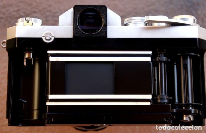 Cámara de fotos: NIKON F, 50 F/1,8 años 60.MINT+++.Como nueva. - Foto 18 - 208369673