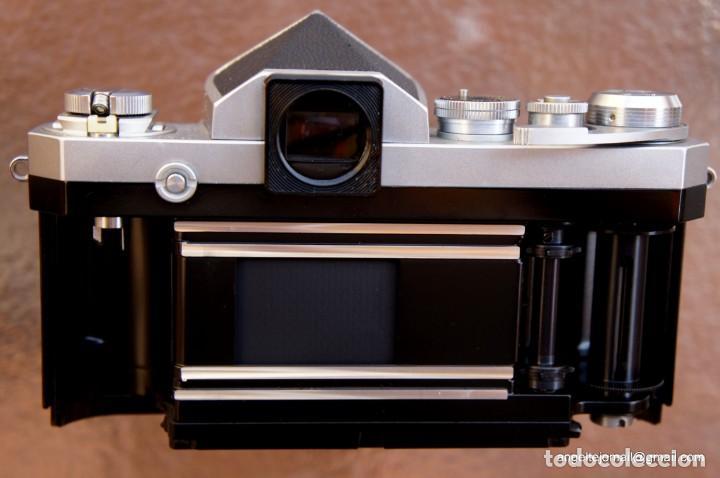 Cámara de fotos: NIKON F, 50 F/1,8 años 60.MINT+++.Como nueva. - Foto 19 - 208369673