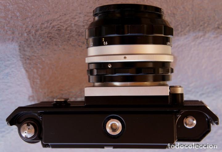 Cámara de fotos: NIKON F, 50 F/1,8 años 60.MINT+++.Como nueva. - Foto 20 - 208369673