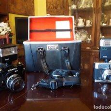 Cámara de fotos: JUEGO DE CAMARAS FOTOS. Lote 210480383