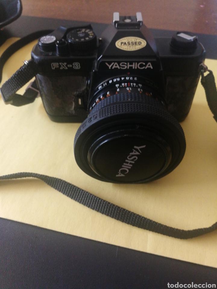 Cámara de fotos: Yashica FX~3, manual original y bolsa - Foto 2 - 210715911