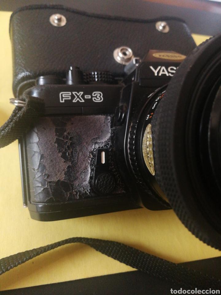 Cámara de fotos: Yashica FX~3, manual original y bolsa - Foto 3 - 210715911