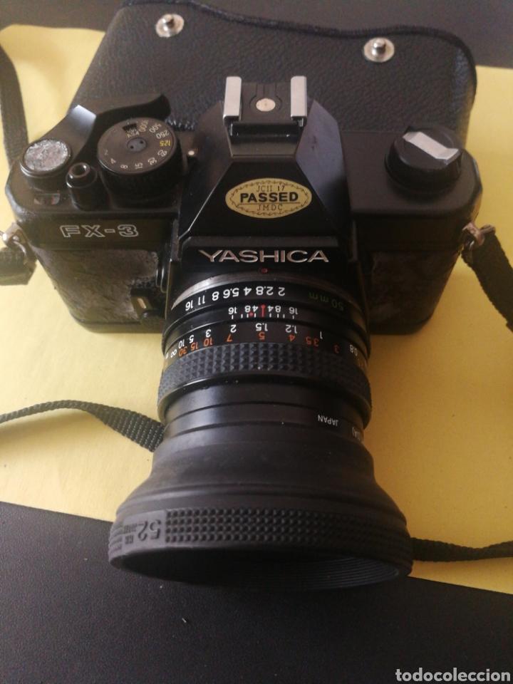 Cámara de fotos: Yashica FX~3, manual original y bolsa - Foto 5 - 210715911
