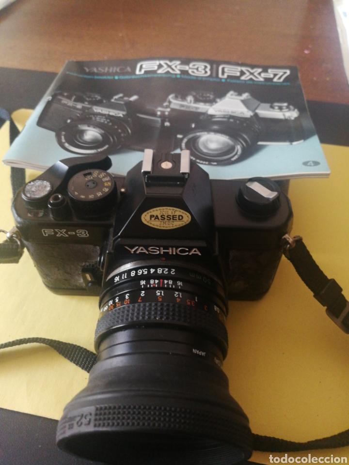 Cámara de fotos: Yashica FX~3, manual original y bolsa - Foto 6 - 210715911