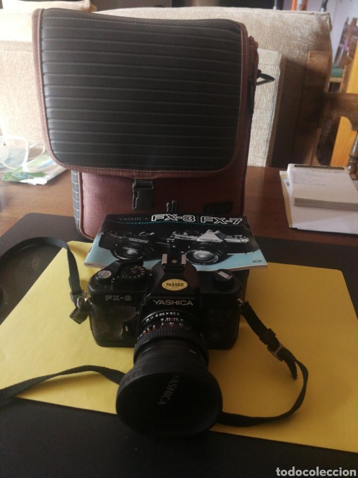 Cámara de fotos: Yashica FX~3, manual original y bolsa - Foto 7 - 210715911