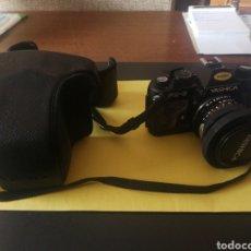 Cámara de fotos: YASHICA FX~3, MANUAL ORIGINAL Y BOLSA. Lote 210715911
