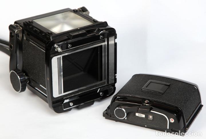 Cámara de fotos: Mamiya RB67 + CHASIS 120 + Visor- formato medio 6x7 cm - Foto 4 - 211664280
