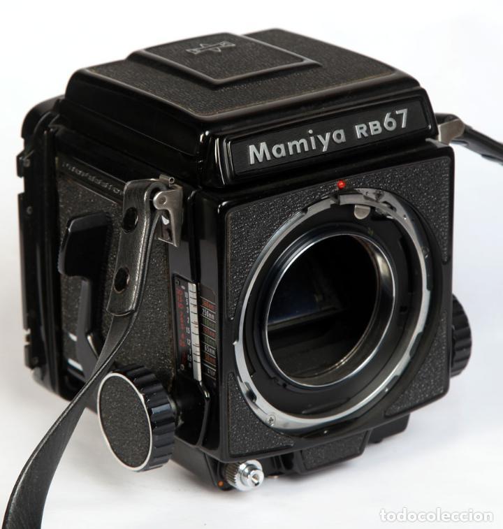 MAMIYA RB67 + CHASIS 120 + VISOR- FORMATO MEDIO 6X7 CM (Cámaras Fotográficas - Réflex (no autofoco))