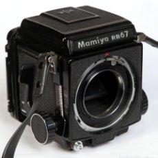 Cámara de fotos: MAMIYA RB67 + CHASIS 120 + VISOR- FORMATO MEDIO 6X7 CM. Lote 211664280