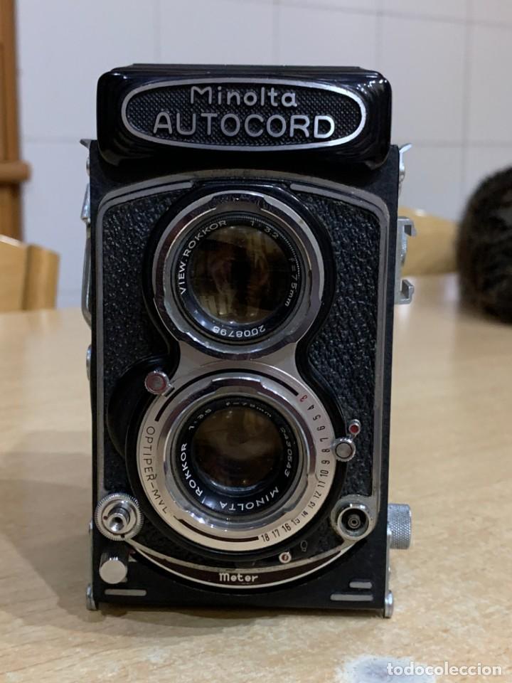 MINOLTA AUTOCORD OPTIPER MVL (Cámaras Fotográficas - Réflex (no autofoco))