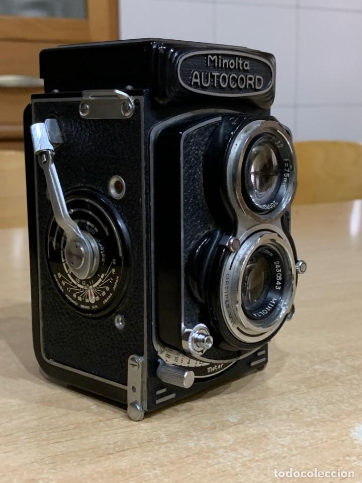 Cámara de fotos: Minolta Autocord Optiper MVL - Foto 2 - 213851517