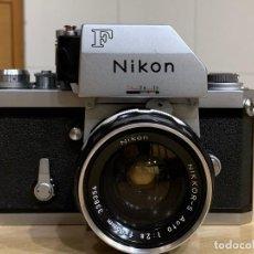 Cámara de fotos: NIKON F CON NIKKOR-S 35MM 2.8. Lote 214234402