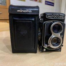 Cámara de fotos: MINOLTA AUTOCORD CITIZEN MVL. Lote 214401270