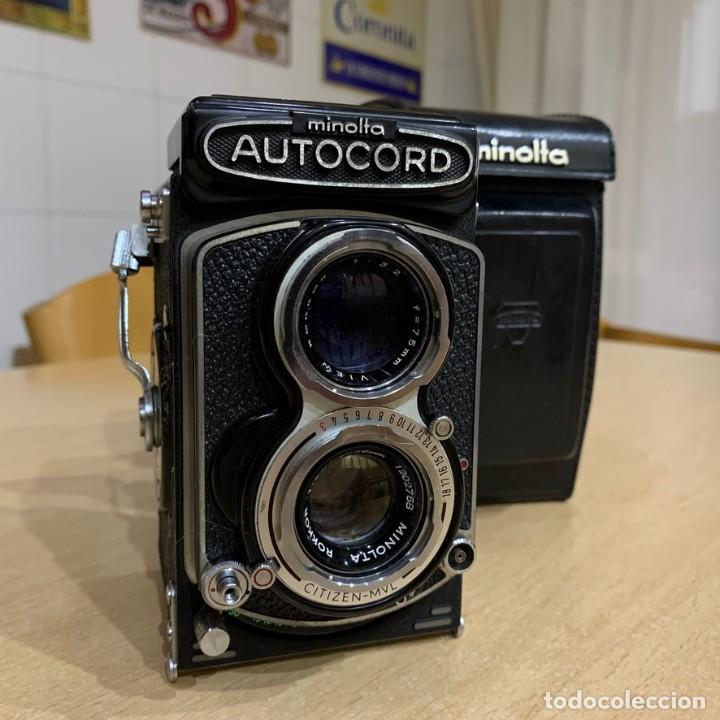 Cámara de fotos: MINOLTA AUTOCORD CITIZEN MVL - Foto 2 - 214401270