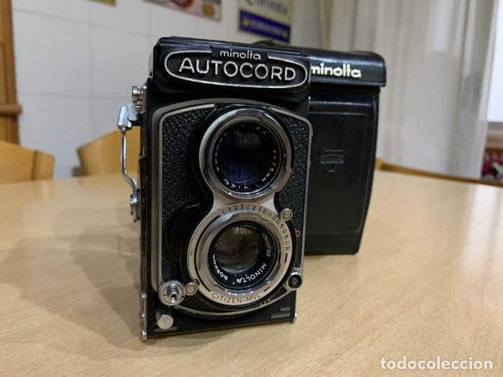 Cámara de fotos: MINOLTA AUTOCORD CITIZEN MVL - Foto 3 - 214401270