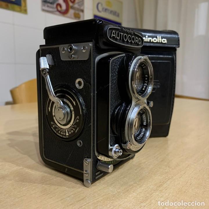 Cámara de fotos: MINOLTA AUTOCORD CITIZEN MVL - Foto 4 - 214401270