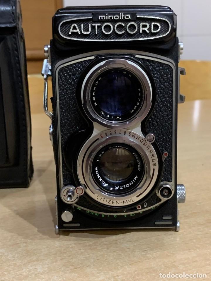 Cámara de fotos: MINOLTA AUTOCORD CITIZEN MVL - Foto 7 - 214401270