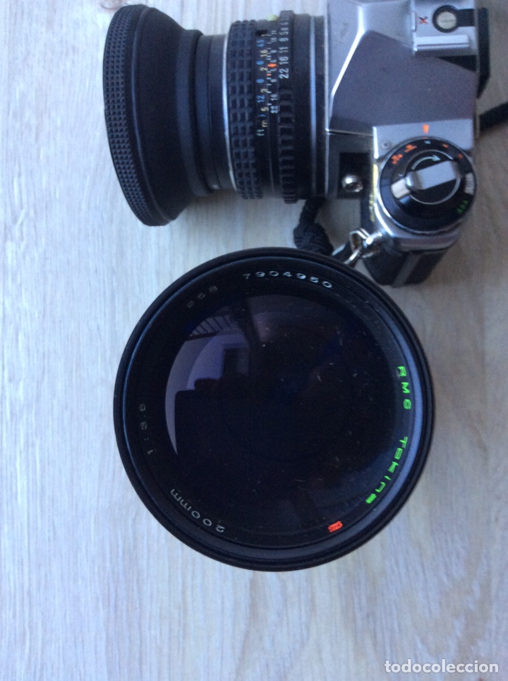 Cámara de fotos: CÁMARA PENTAX ASAHI ME CON OBJETIVO PENTAX Y OBJETIVO RMC TOKINA FUNCIONADO EN BUEN ESTDO - Foto 9 - 214840457