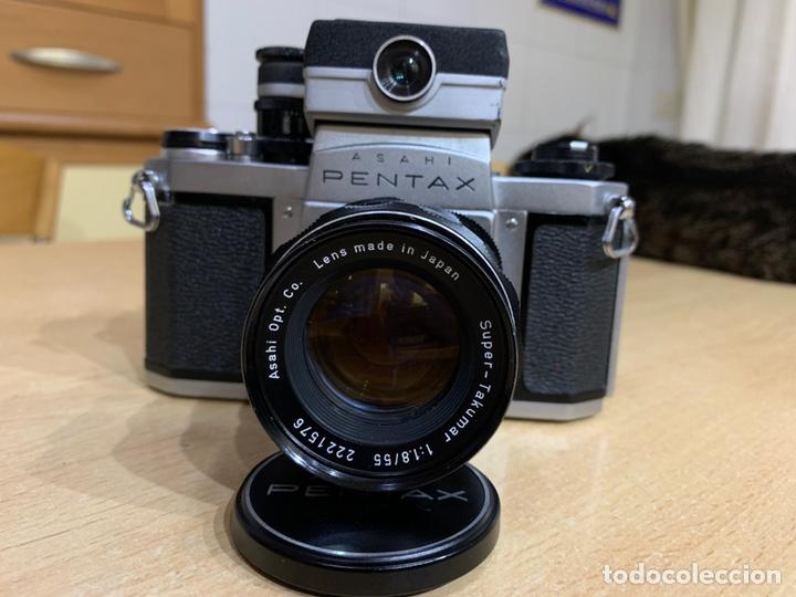 Cámara de fotos: Pentax SV con Fotometro y Súper Takumar 55mm 1.8 - Foto 2 - 215101535