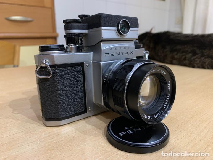 Cámara de fotos: Pentax SV con Fotometro y Súper Takumar 55mm 1.8 - Foto 3 - 215101535