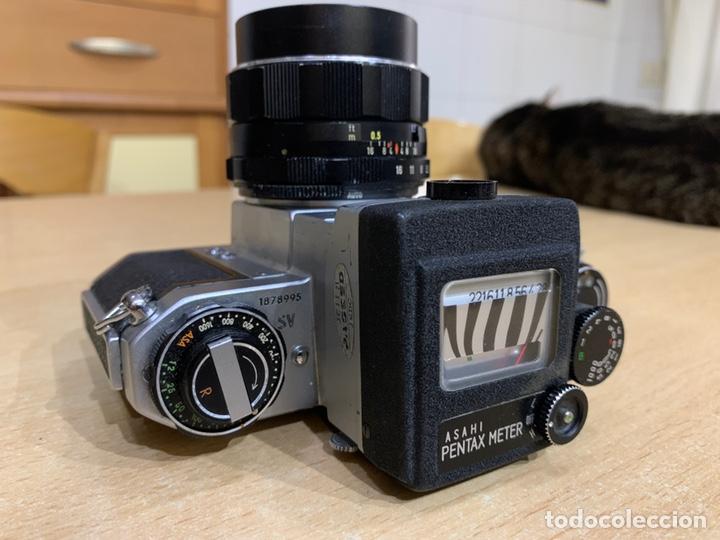 Cámara de fotos: Pentax SV con Fotometro y Súper Takumar 55mm 1.8 - Foto 5 - 215101535