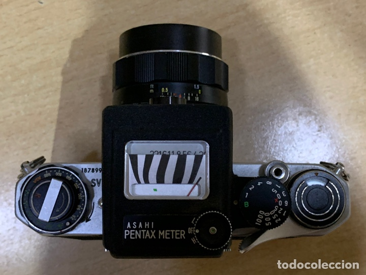 Cámara de fotos: Pentax SV con Fotometro y Súper Takumar 55mm 1.8 - Foto 6 - 215101535