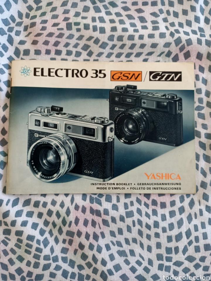 Cámara de fotos: Yashika Electro 35 GSN - Foto 4 - 216487140
