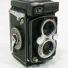 Cámara de fotos: ANTIGUA CÁMARA FOTOGRÁFICA TLR REFLEX DE DOS OBJETIVOS YASHICA MAT LM. Lote 216594732