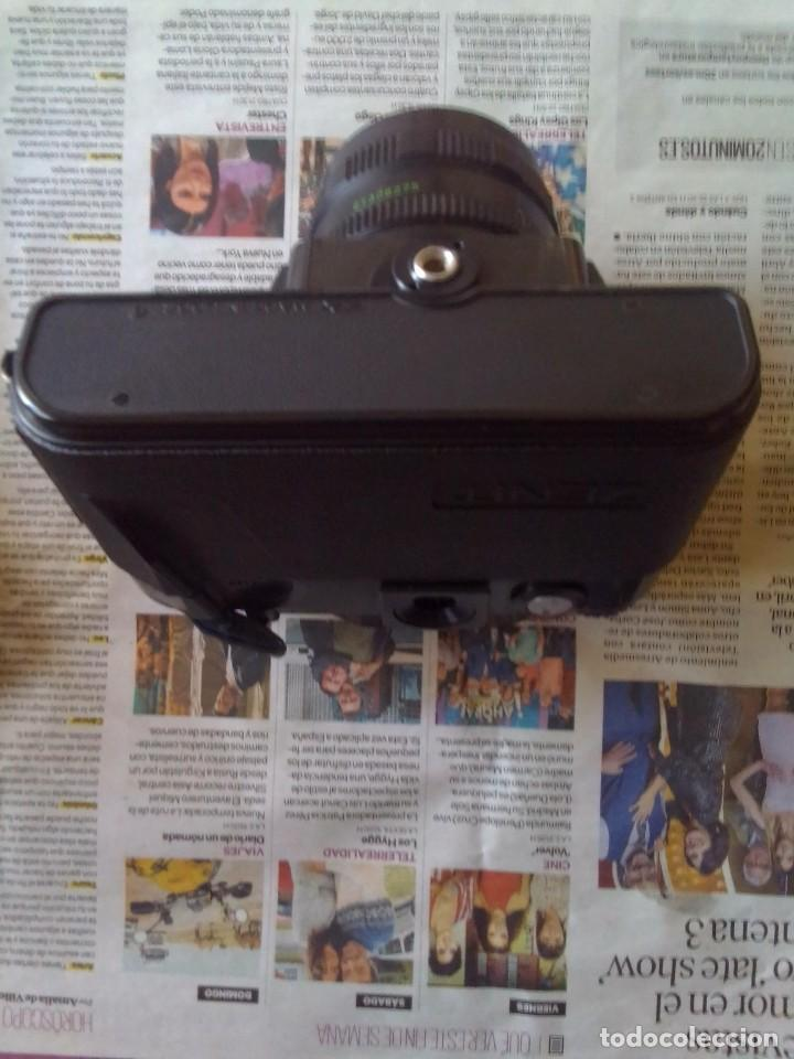 Cámara de fotos: lote cámara Zenit 122 + flash - Foto 5 - 218530136