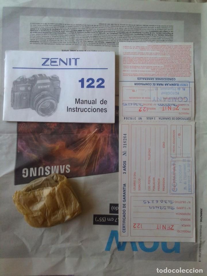 Cámara de fotos: lote cámara Zenit 122 + flash - Foto 8 - 218530136