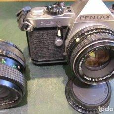 Cámara de fotos: PENTAX ME SUPER + OBJETIVO VITAR. Lote 218715261