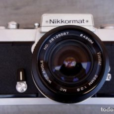 Cámara de fotos: NIKKORMAT, NIKON, FT2.CON 28 2,8. Lote 219174030