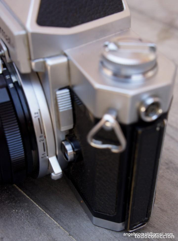 Cámara de fotos: NIKKORMAT, Nikon, FT2.Con 28 2,8 - Foto 2 - 219174030