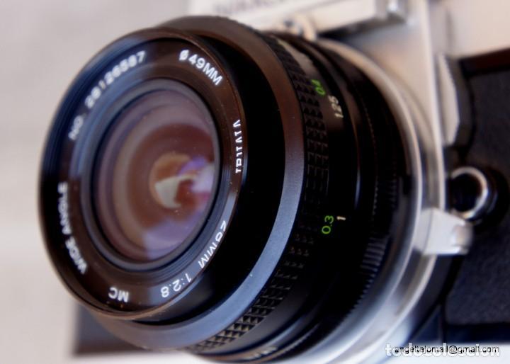 Cámara de fotos: NIKKORMAT, Nikon, FT2.Con 28 2,8 - Foto 6 - 219174030
